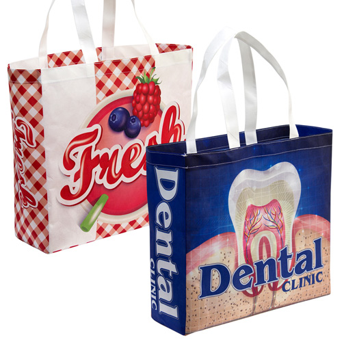 S132011A Extensive non-woven shopping bags maximum branding by sublimation