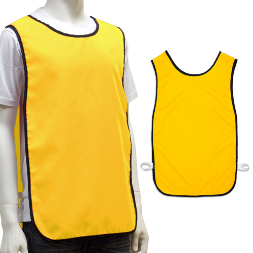 S138003A1 Large Polyester Event Bib Vests Logo Printed