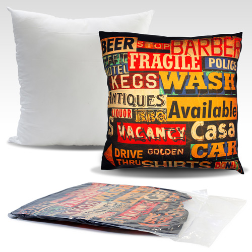 S139001A 45x45cm Cushion with sublimation printed cover without zipper closure