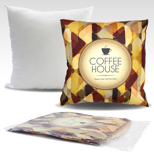 S139002A 50x50cm Cushion with sublimation printed cover without zipper closure