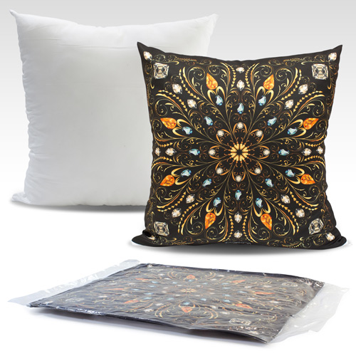 S139002 50x50cmcm Cushion with sublimation printed cover with zipper closure