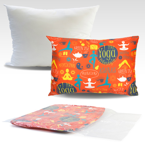 S139003A 35x50cmcm Cushion with sublimation printed cover without zipper closure