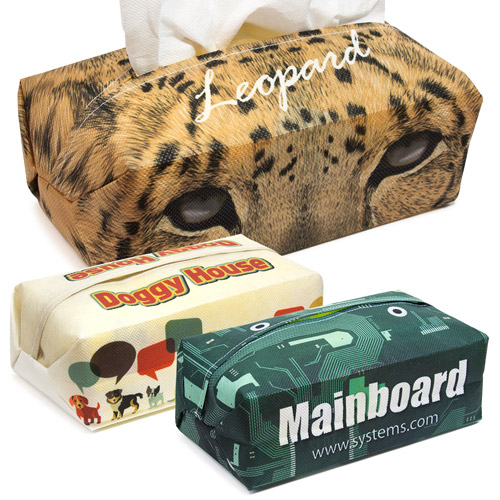 S139005 Sublimation Soft Tissue Box Cover made of Non-woven