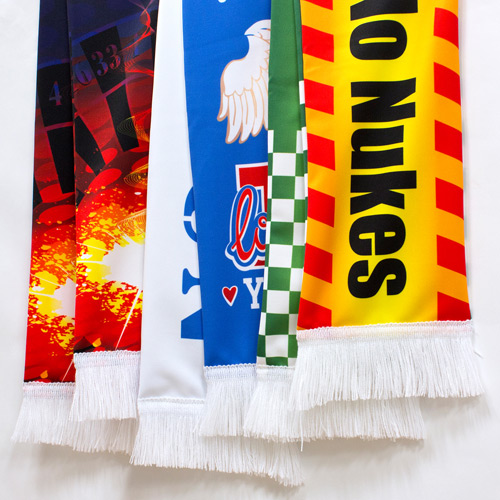 S141001 Kid's Size Sublimation Sports Fan Scarf